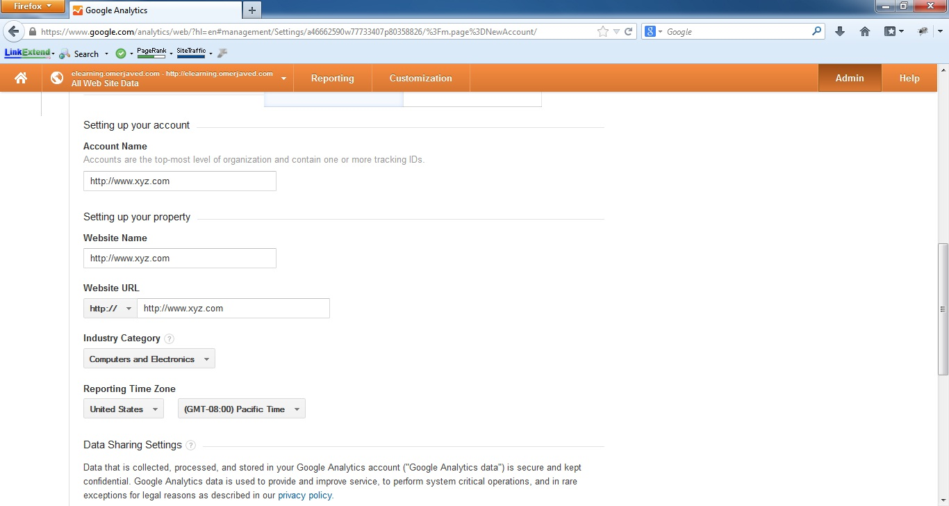 Google Analytics Step 2 B